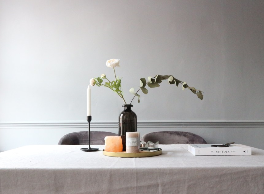 Candlesontable