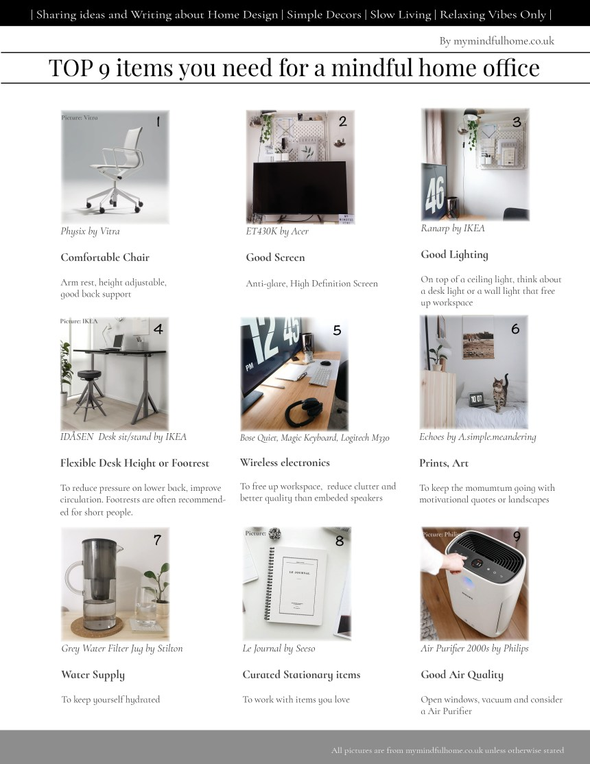 top9mindfulhomeofficeobject
