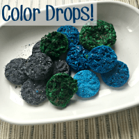 DIY Homemade Bathtub Color Drops