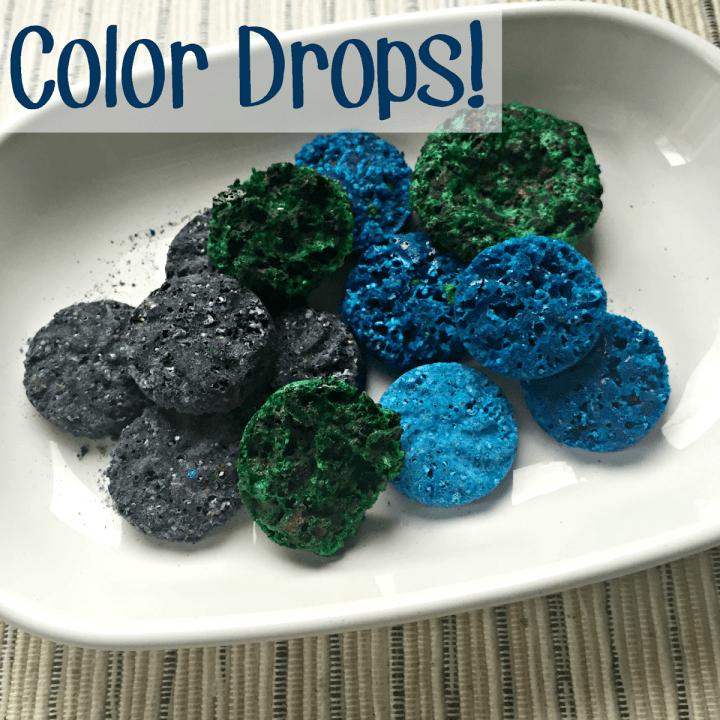 DIY Homemade Bathtub Color Drops