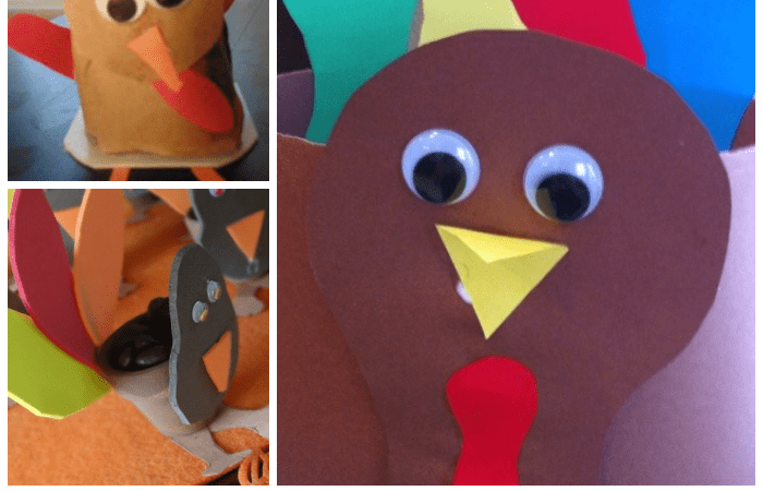 10 Turkey Crafts for Preschoolers!