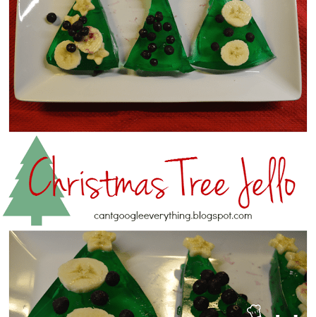 Christmas Tree Jello!