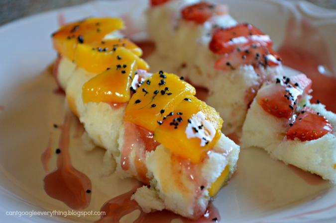 Fresh Fruit Sushi Recipe
