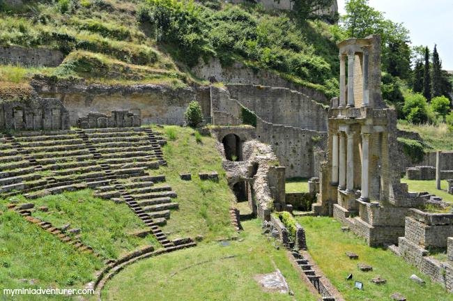 Volterra Roman Ruins