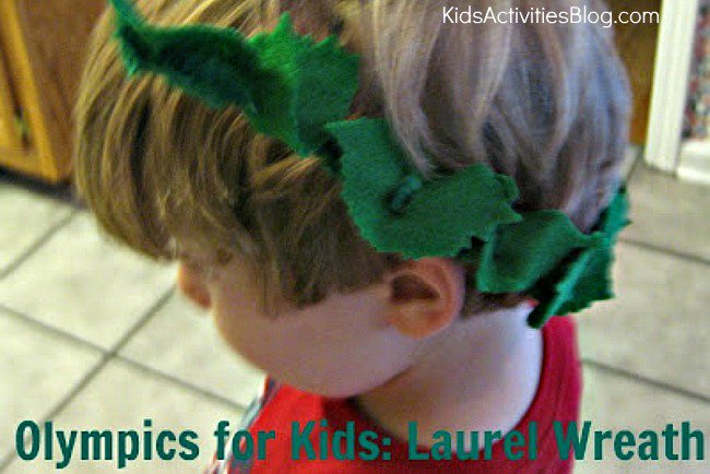 olympics-for-kids-laurel-wreath