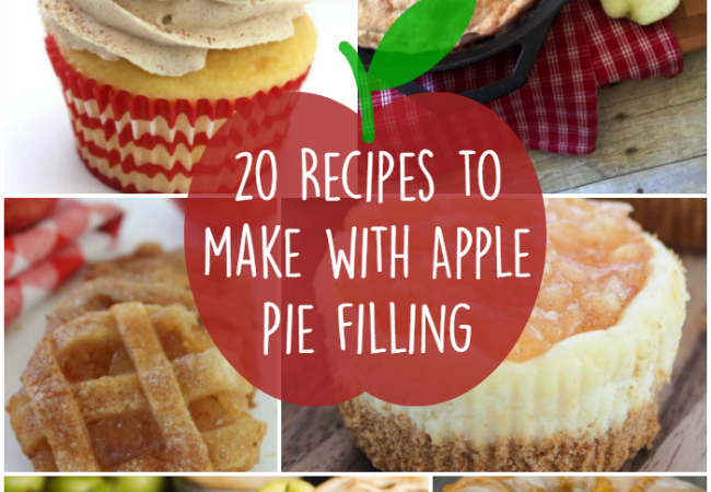 20 Delicious Recipes to Make with Apple Pie Filling