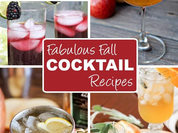 10 Fabulous Fall Cocktail Recipes