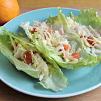 Lunch Meat Lettuce Wraps