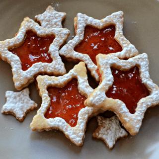 Super Star Linzer Cookies