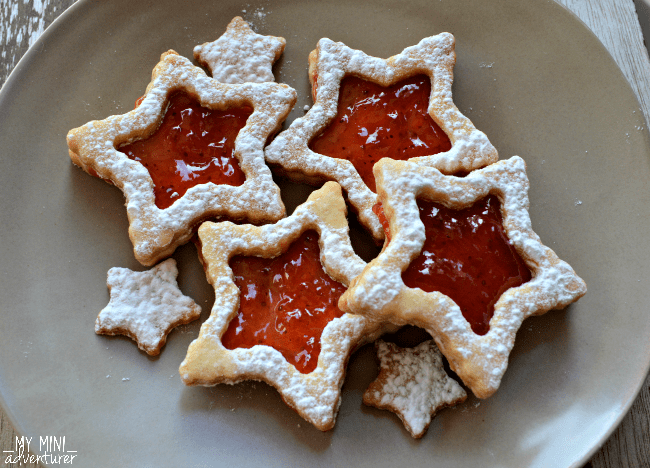 star linzer cookies
