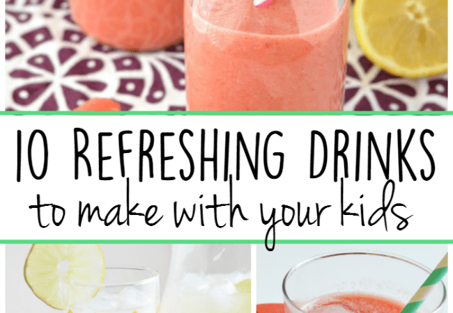 10 Refreshing Drinks to Make With Your Kids