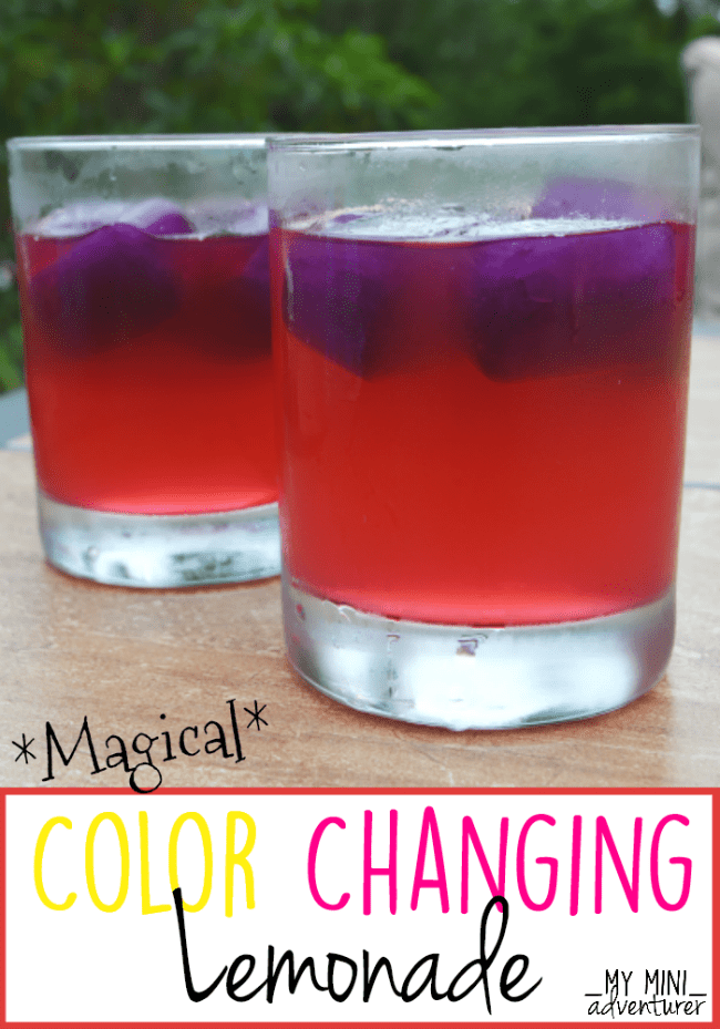 Color Changing Lemonade