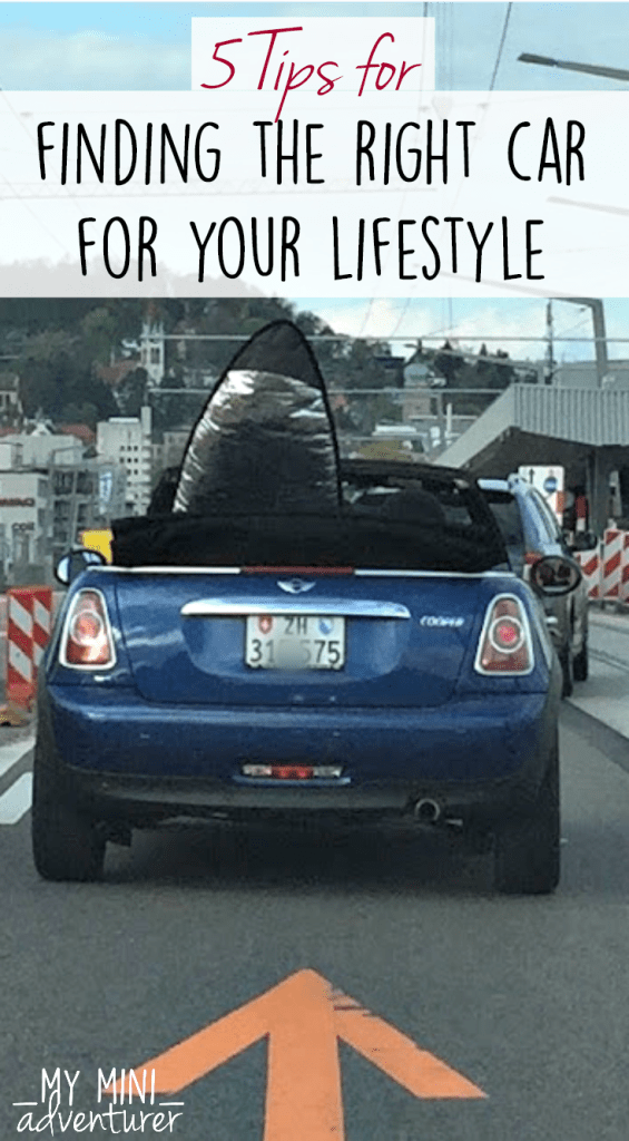 5 Tips for Finding the Right Car for your lifstyle
