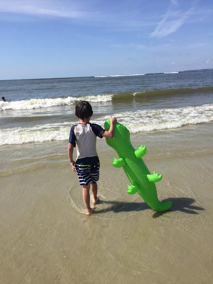 saint simons beach fun