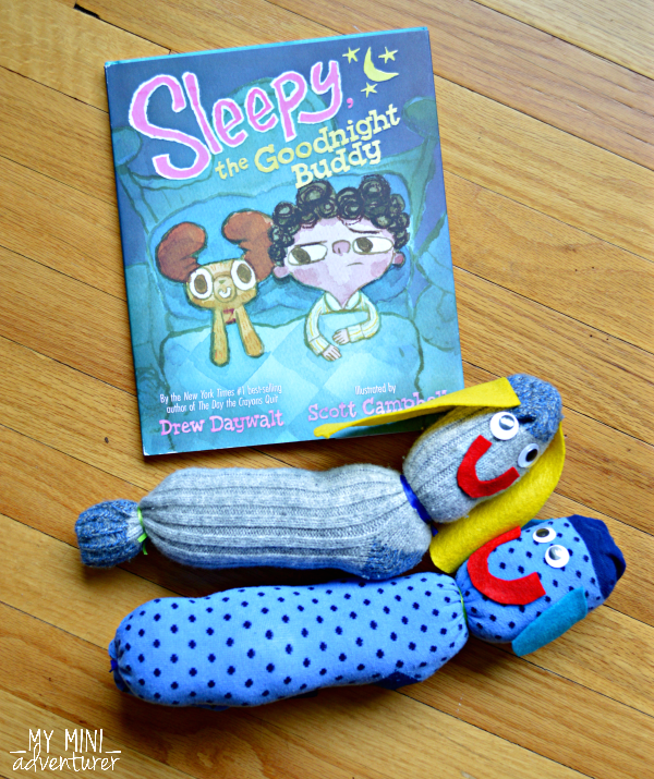 Sleepy the Goodnight Buddy craft and book