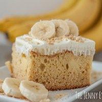 Scrumptious Banana Pudding Cake