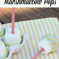 Easter Dessert: Marshmallow Pops - Uncommon Designs