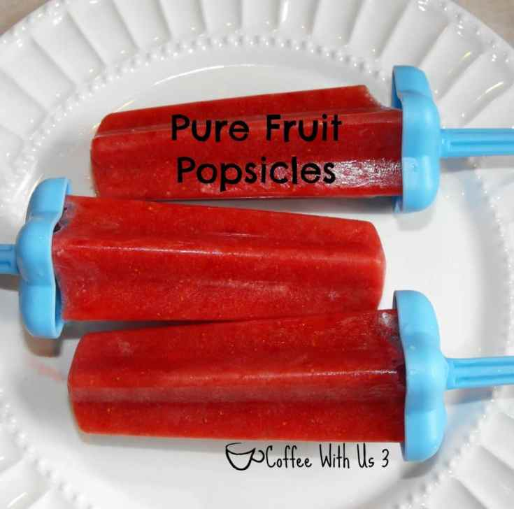 Pure Fruit Popsicles