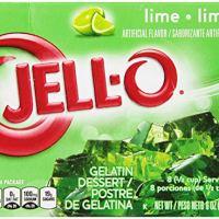 JELL-O Gelatin Dessert, Lime, 6-Ounce