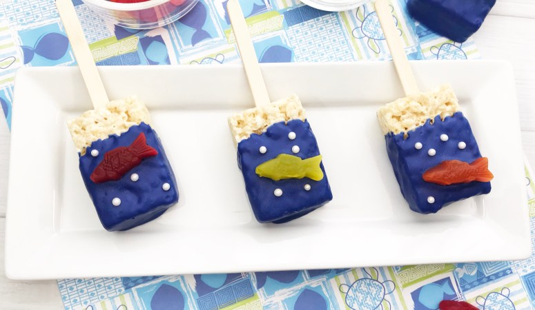 Under the Sea Rice Krispies Treats