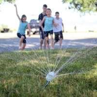$1 Soda Bottle Sprinkler For Summer Fun