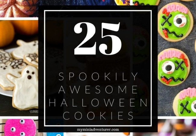 25 Spookily Awesome Halloween Cookies
