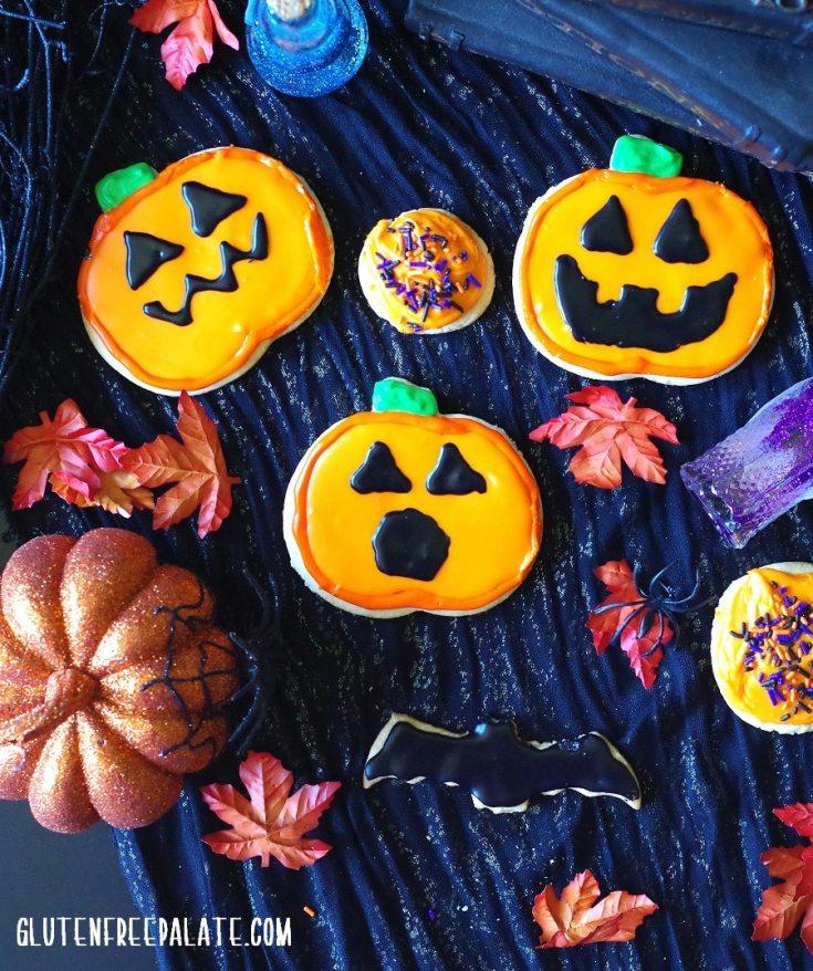 Gluten-Free Halloween Sugar Cookies