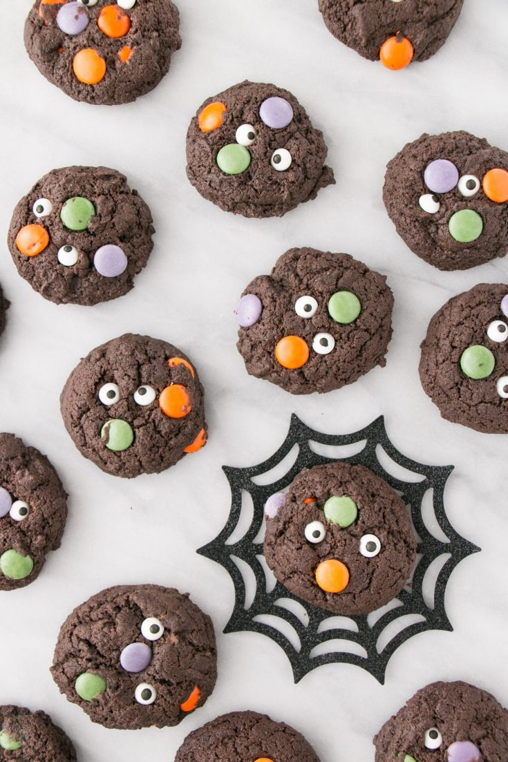 Halloween Monster Cookies - My Kitchen Love