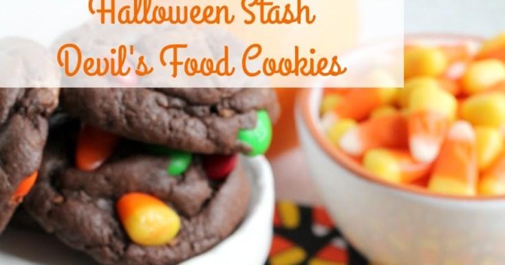 Halloween Stash Devil's Food Cookies