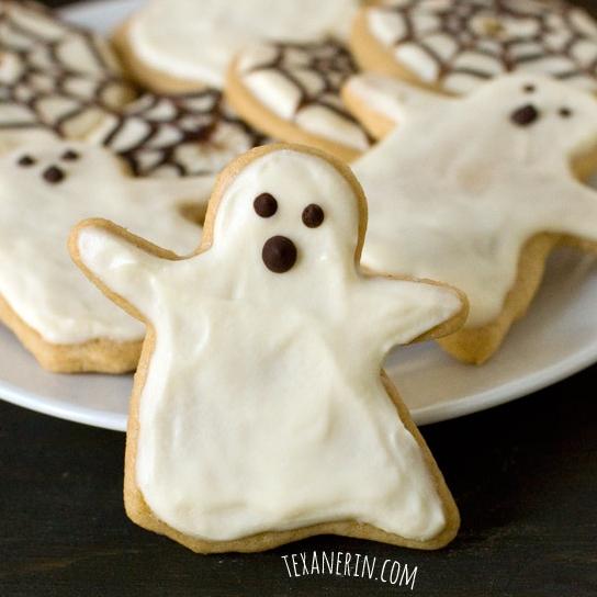 Healthier Halloween Sugar Cookies - Texanerin Baking