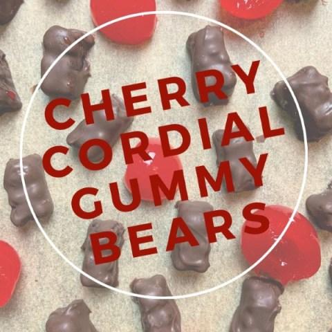 Cherry Cordial Boozy Gummy Bears