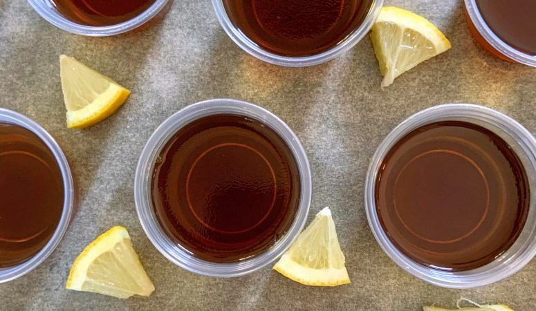 Long Island Iced Tea Jello Shots