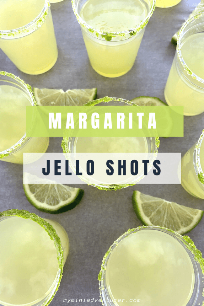 margarita jello shots perfect for a party