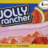 Jolly Rancher Watermelon Gelatin Jello (4 Boxes)
