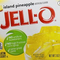 Jell-O Gelatin Dessert, Island Pineapple, 3-Ounce Box (Pack of 3)