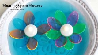 DIY Floating Spoon Flowers