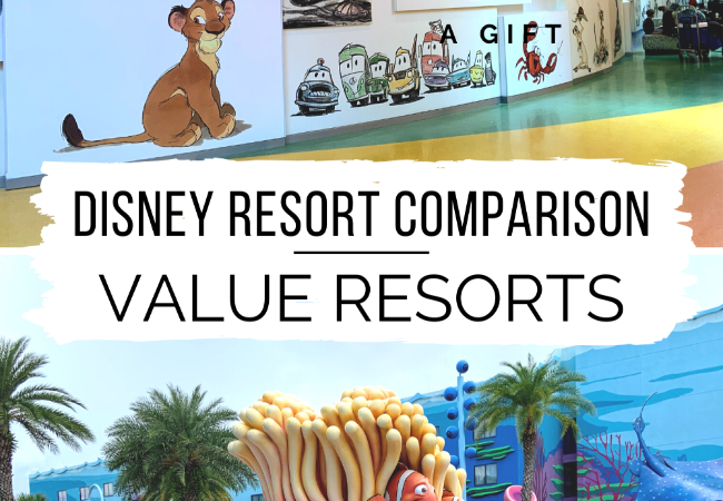 Disney Resort Comparison: Value Resorts