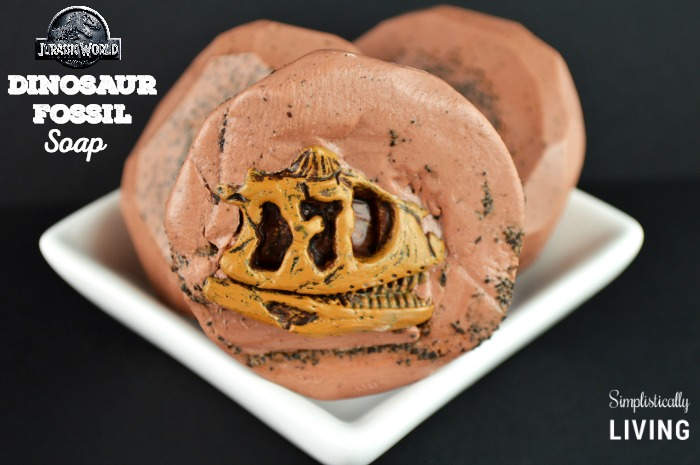 Jurassic World Inspired Dinosaur Fossil Soap