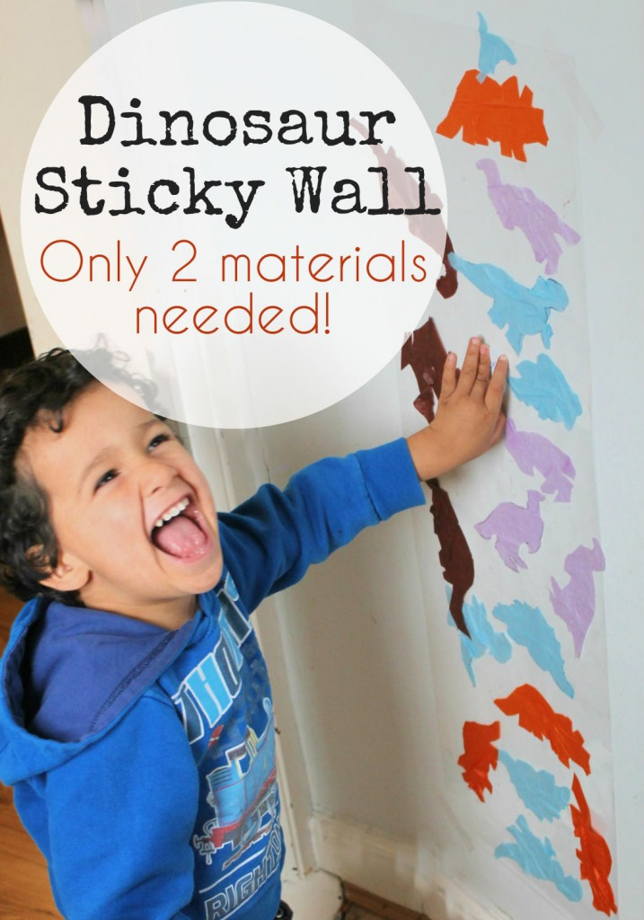 Dinosaur Sticky Wall