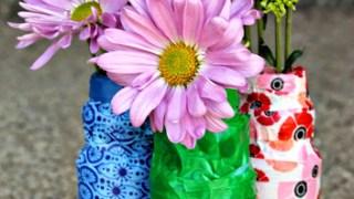 Easy Kids Washi Tape Crafts: Washi Tape Vases