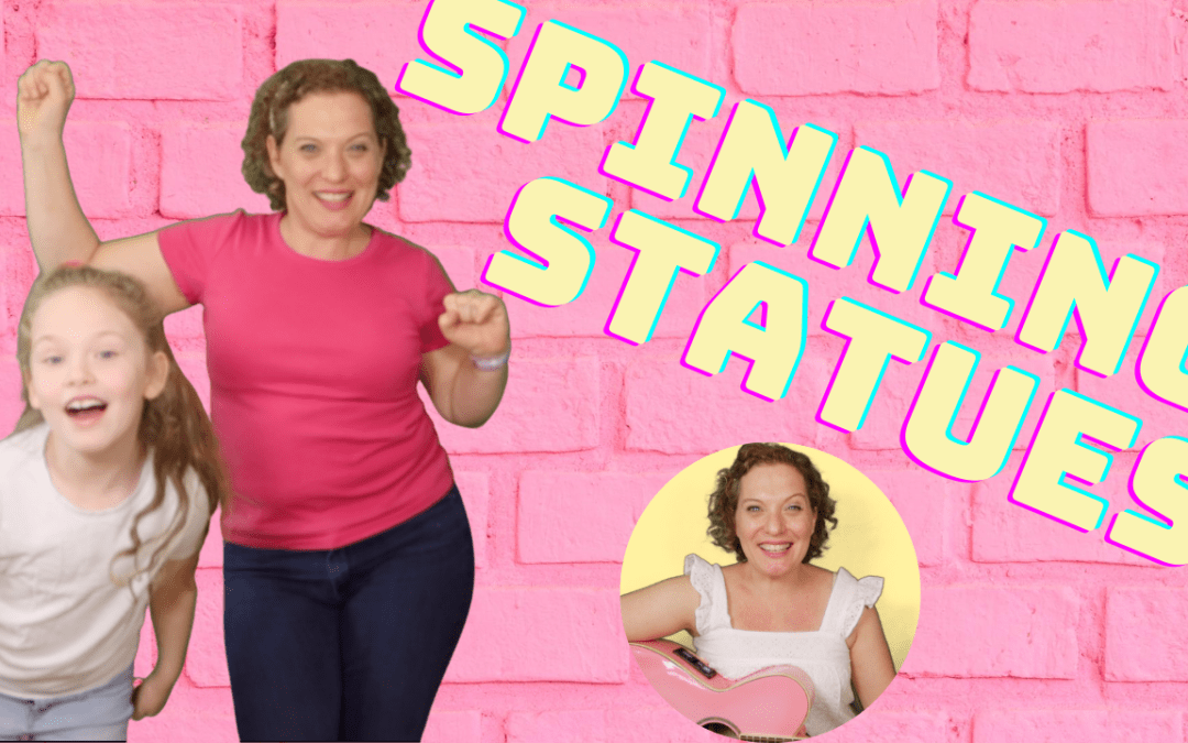SPINNING STATUES | The ULTIMATE Movement Activity for Kids