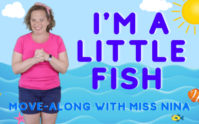 I'm A Little Fish | Preschool Summer Song with Movements