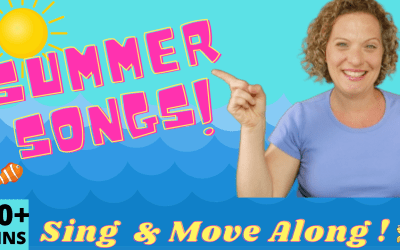 SUMMER PRESCHOOL SONGS WITH MOVEMENTS! 30+ MINS Of Non-Stop Fun!