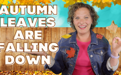 Preschool Fall Song   AUTUMN LEAVES ARE FALLING DOWN