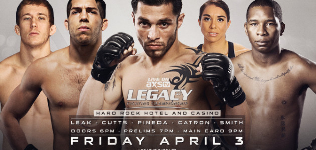 Daniel Pineda In To Replace Anthony Njokuani At LFC 41