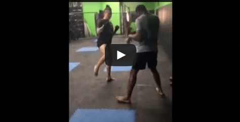 Technique of the Week – Using jab and low kick to set up head kick