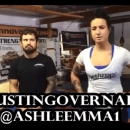 Technique of the Week – Ashlee Evans-Smith demonstrates takedown
