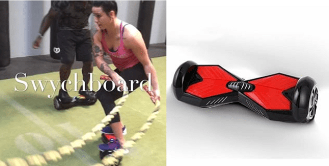 Technique of the Week – Ashlee Evans-Smith working out on Swychboard