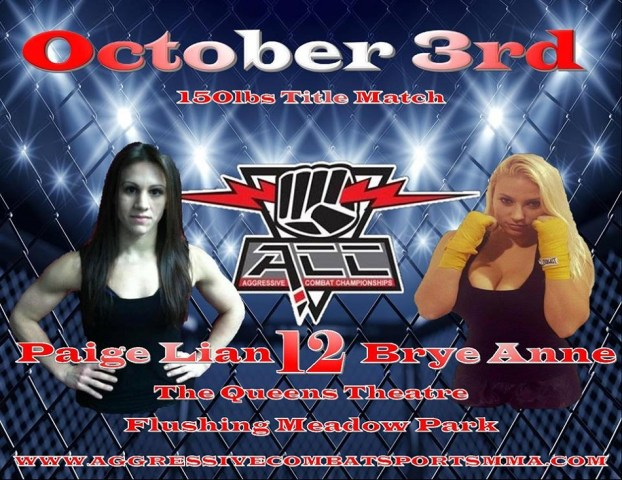 Brye Anne Russillo Fights Paige Lian At ACC 12 For Title
