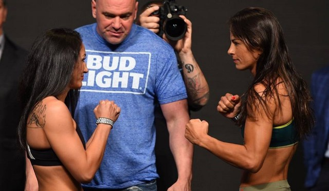 Carla Esparza wrestles for win in UFC in return